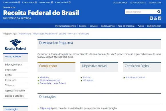 O pedido de parcelamento deverá ser apresentado a partir do dia 3 de julho até 2 de outubro de 2017, das 8h  às 20h, horário de Brasília, exclusivamente por meio do site da Receita Federal