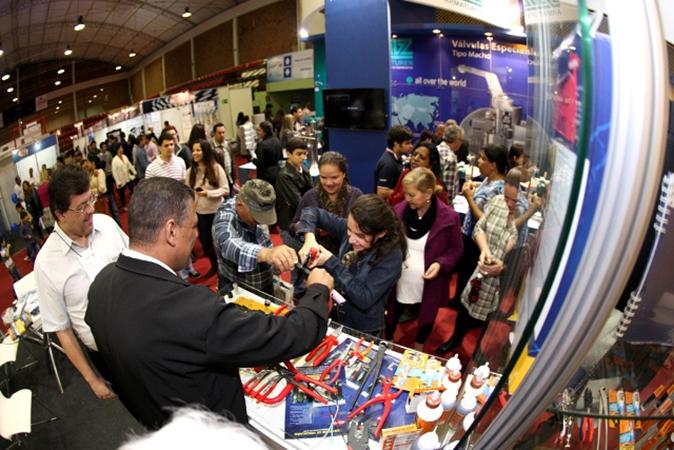 São esperados 20 mil visitantes nos três da exposição de negócios. Foto: Divulgação / Expo Usipa