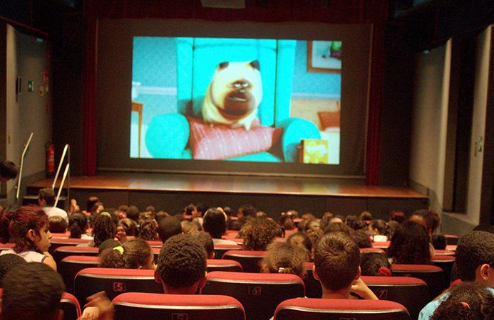 As atrações deste mês tiveram início nesta semana com o Cine Crianças
