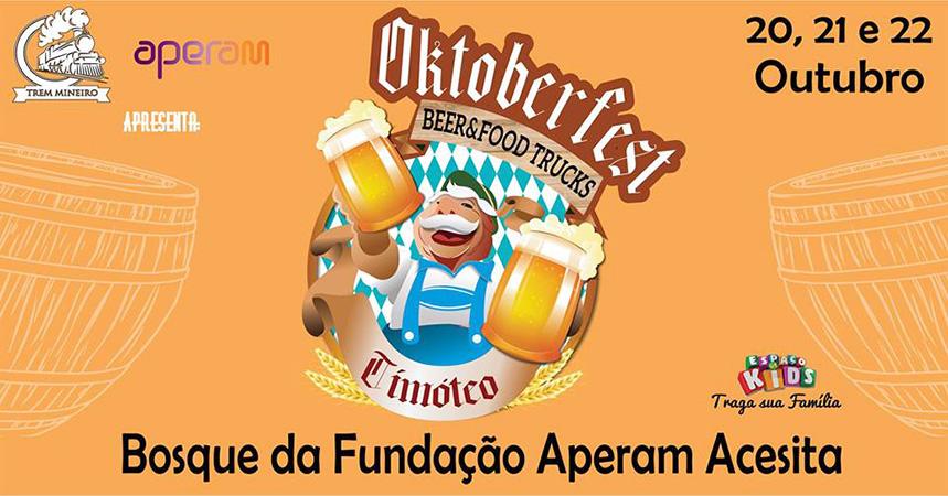 Bosque da Fundação Aperam Acesita recebe Oktoberfest