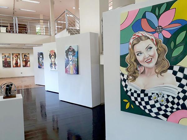 Em sua 22ª edição, a galeria do centro cultural recebe diversas artistas do Vale do Aço e região
