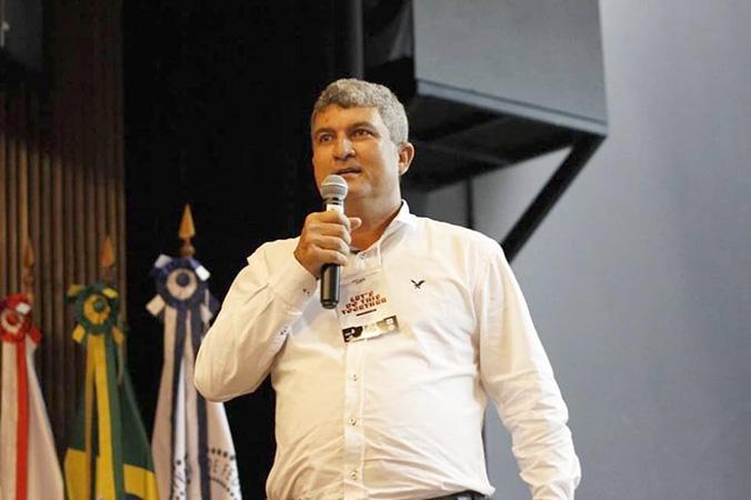 """O especialista em Meio Ambiente da CENIBRA, Sebastião Tomas de Carvalho apresentou no evento a palestra """"Como Empreender no dia a dia de uma grande empresa - Resolvendo problema de forma criativa"""""""