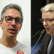 Canditados ao governo de Minas Gerais: Romeu Zema e Antônio Anastasia