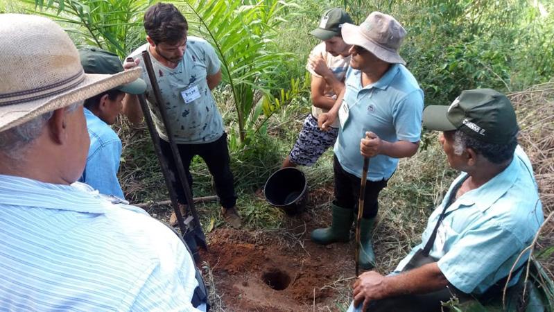 A iniciativa teve como foco fomentar a implantação do palmito pupunha no Cocais em Cel. Fabriciano