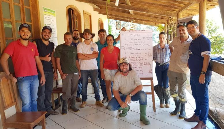 O curso que teve sua carga horária de 24 horas, foi realizado na Fazenda Santa Luzia, no Caladão, zona rural de Coronel Fabriciano