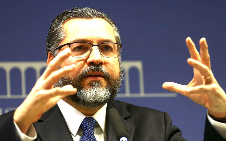 O ministro das Relações Exteriores, Ernesto Araújo - Marcelo Camargo/Agência Brasil