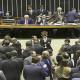 O Plenário da Câmara dos Deputados aprovou a quebra do prazo de cinco sessões entre as votações em primeiro turno e em segundo turno para que a PEC da reforma da Previdência (6/19) pudesse ser votada.Fabio Rodrigues Pozzebom/Agência Brasil
