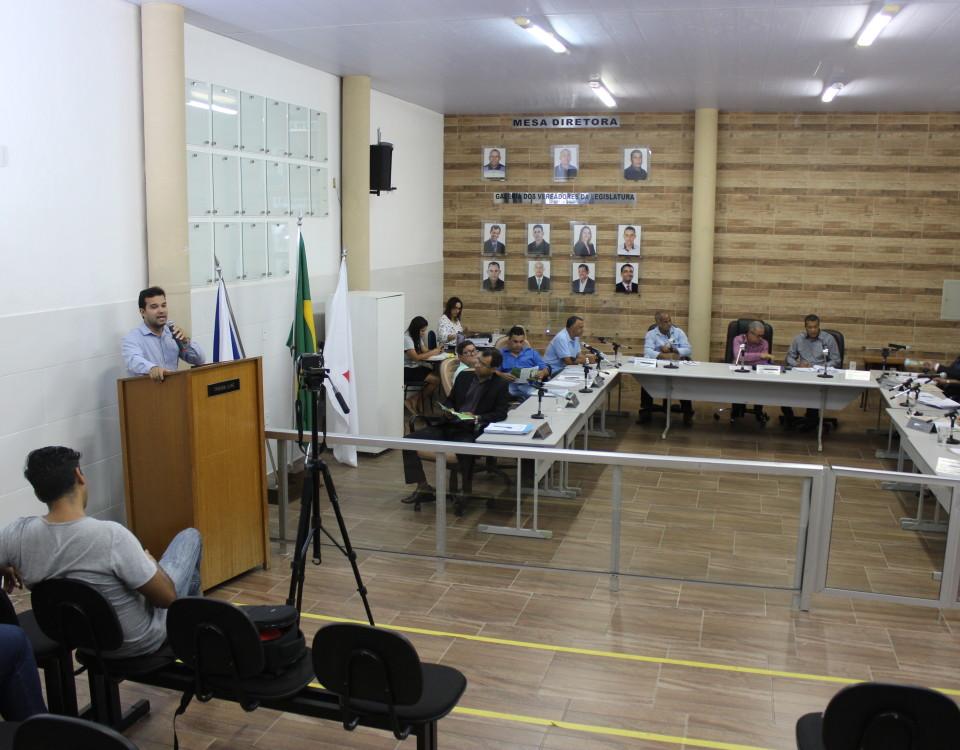 A programação da 5ª Conferência também está sendo divulgada nas Câmaras Municipais da RMVA, como foi em Santana do Paraíso nesta semana