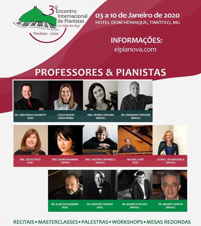 Encontro Internacional de Pianistas do Vale do Aço