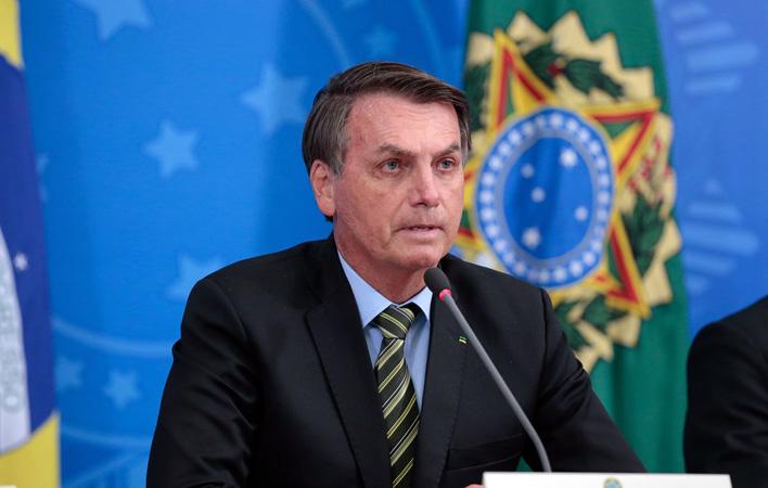 O presidente Jair Bolsonaro confirmou a liberação de recursos em pronunciamento. Foto: Agência Brasil