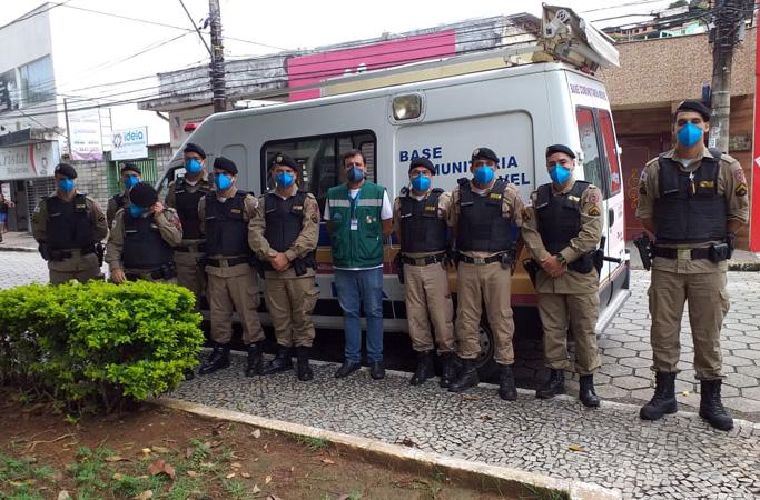 As autoridades municipais poderão solicitar o apoio da Polícia Militar e dar voz de prisão a quem descumprir os decretos- Foto: Divulgação/PMCF