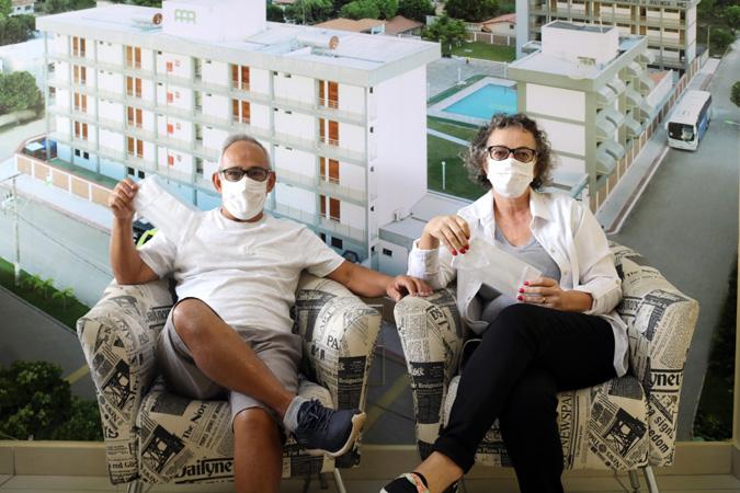 AAPI está produzindo máscaras de proteção individual