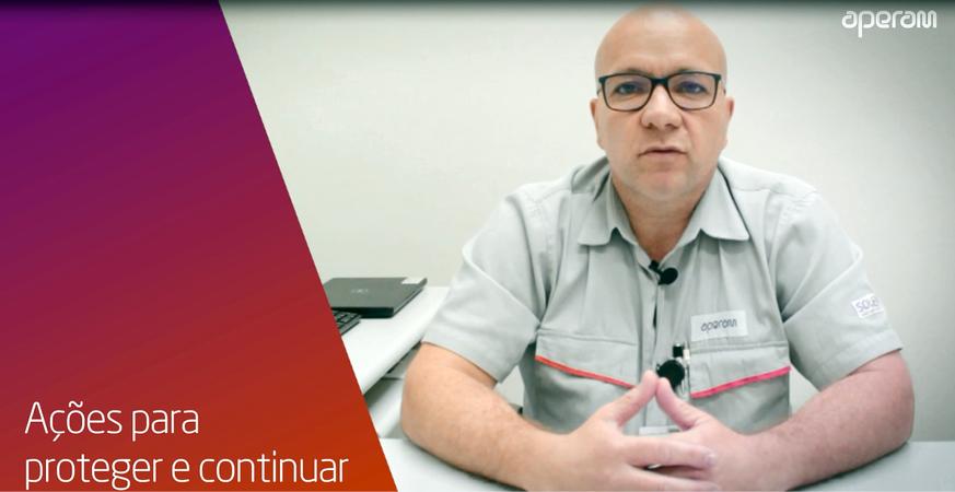 Robson Machado - Gerente Executivo de Saúde, Segurança e Meio Ambiente