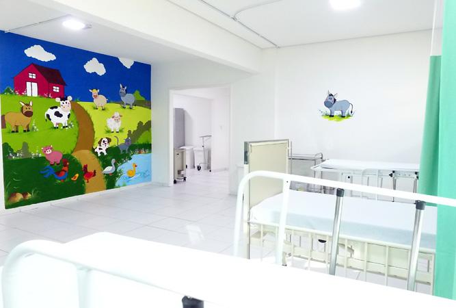 A UPA tem capacidade de atender até 250 pacientes por dia com leitos adulto e pediátrico