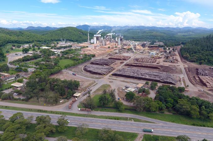 A Empresa produziu 1.222.888 toneladas de celulose