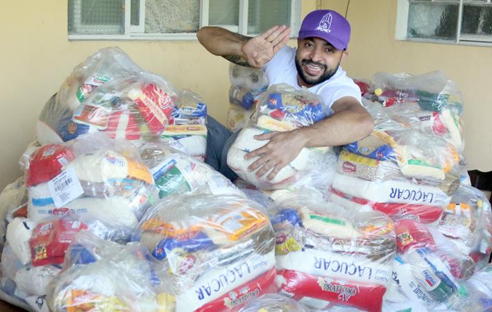 Alimentos serão distribuídos por meio dos CRAS