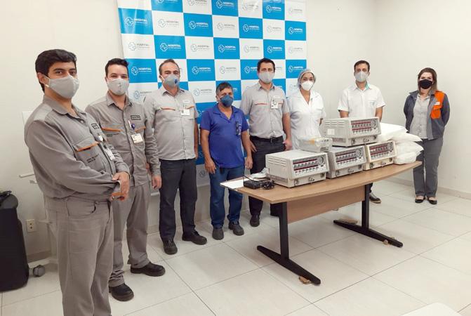 Ação solidária começou em abril e já foram recuperados até o momento 17 respiradores de hospitais de Timóteo, Coronel Fabriciano e agora também Ipatinga