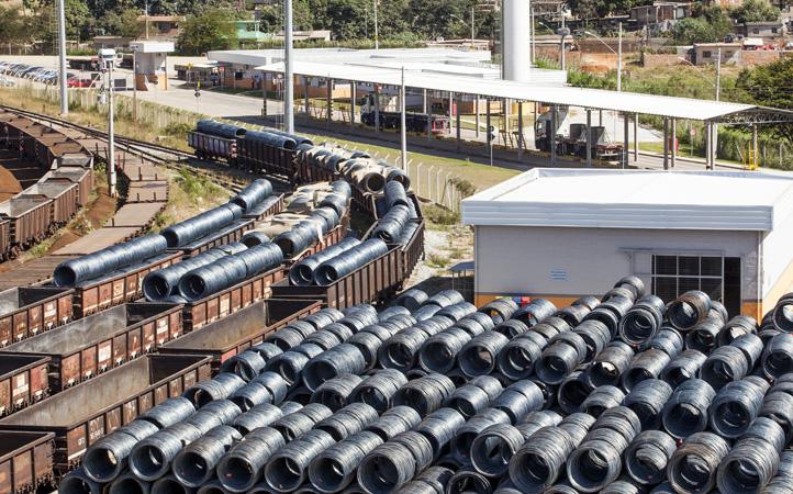 Em 2020, empresas identificaram novas oportunidades de fluxo de abastecimento e escoamento de insumos e produtos siderúrgicos - Foto: Corporativo / VLI - Nidin Sanches/Divulgação