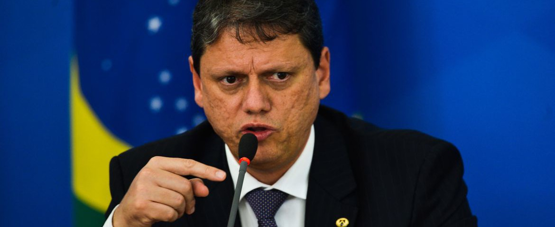 Segundo ministro da Infraestrutura, Tarcísio Gomes de Freitas , Portfólio atraente põe o país na mira de investidores - Foto: Marcello Casal Jr - Agência Brasil
