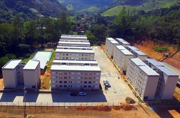 Moradias já estão prontas e vão beneficiar 288 famílias de Fabriciano