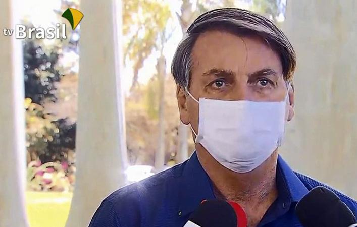 O presidente cancelou  viagens - Foto: Reprodução TV Brasil