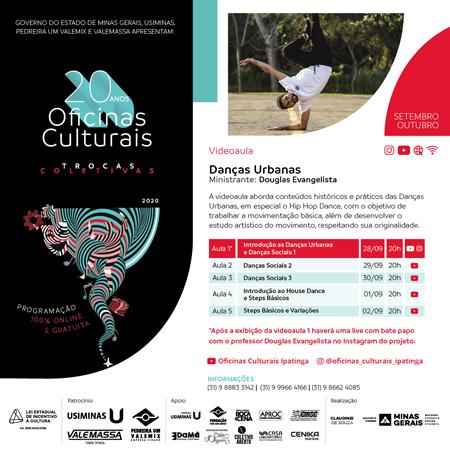 Danças Urbanas - Professor Douglas Evangelista_FEED