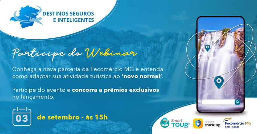 O encontro on-line, no dia 3 de setembro, às 15h, visa apresentar as vantagens dessas duas inovações, que contribuem para desenvolvimento dos negócios turísticos