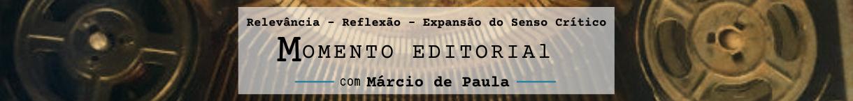 Momento Editorial com Márcio de Paula
