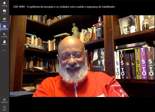 O filósofo Luiz Felipe Pondé foi um dos palestrantes de renome que participaram da 24ª SIPAT Integrada da CENIBRA
