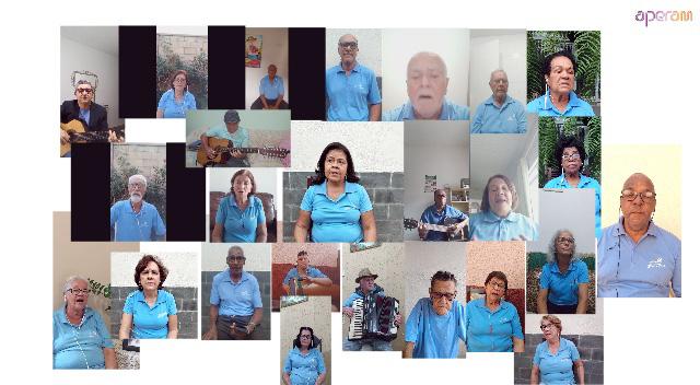 No próximo domingo (1), grupo de seresta se apresenta por meio das redes sociais da Aperam no Brasil