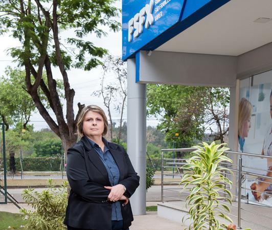A Gerente de Segurança do Trabalho, Saúde Ocupacional e Meio Ambiente da Fundação São Francisco Xavier, Amália Regina Lage destaca a satisfação com a premiação