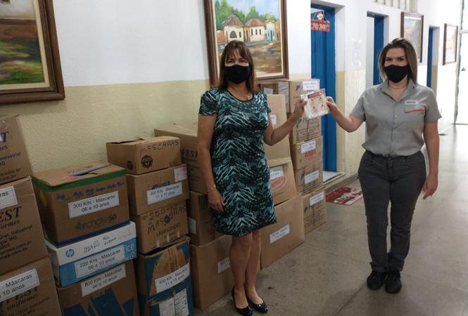 Ao todo, serão ofertadas mais de 17 mil máscaras que é um dos principais itens de proteção contra o coronavírus