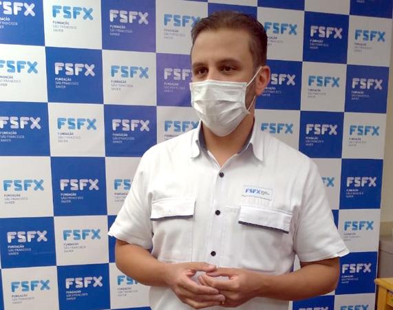 Para o Superintendente do Hospital Márcio Cunha, Dr. Bruno Nunes Ribeiro o início da vacinação reaquece a esperança