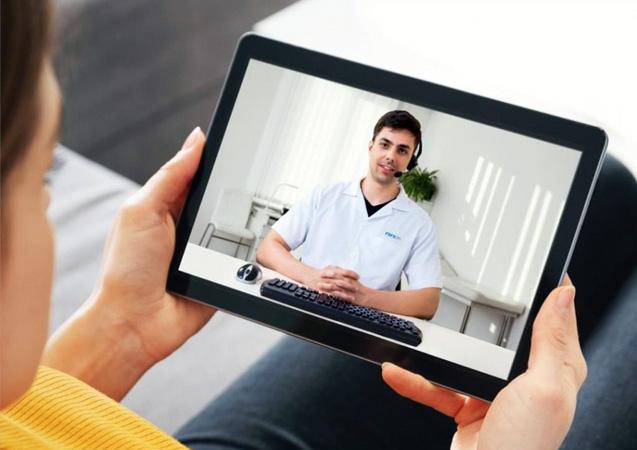 Telemedicina e robô são utilizadas pelos hospitais da Fundação São Francisco Xavier para promover a saúde com conforto e segurança