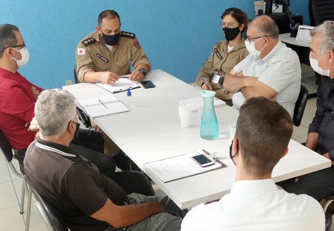 Reunião serviu para alinhar ações contra as irregularidades