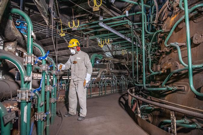 Alto-Forno 2 voltou a operação nesse último dia 14, e Usiminas volta a produção de aço bruto em plena carga