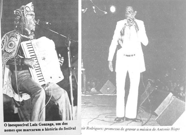 O primeiro Uirapuru contou com shows de Luiz Gonzaga e Jair Rodriguez - Foto: Jornal do Alfa