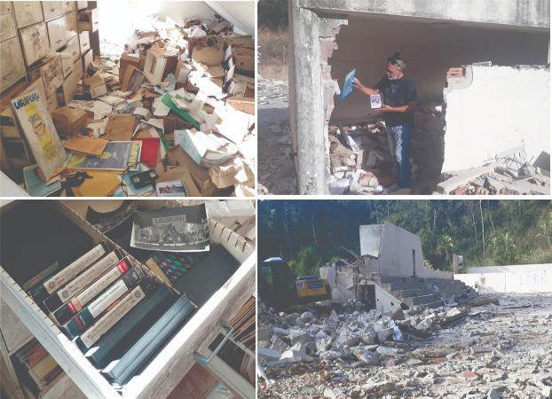 Jornal O Informante escombros Alfa