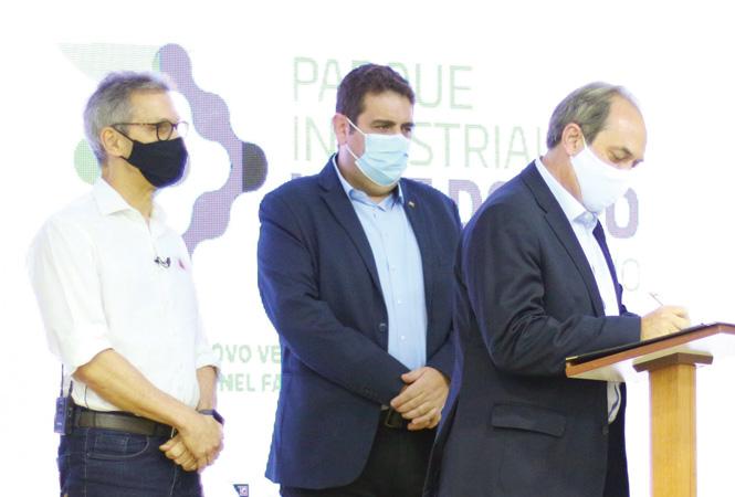 Um dos grandes investimentos de negócios do Leste de Minas Gerais abrigará empresas de médio e grande porte