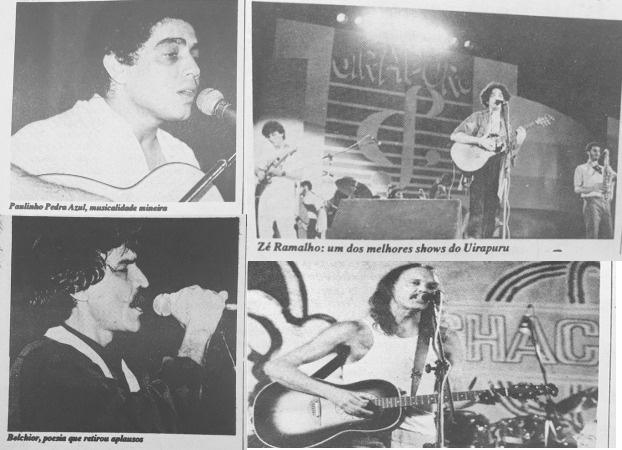 Paulinho Pedra Azul, Zé Ramalho, Belchior e Zé Geraldo alguns dos grandes nomes que passaram pelo Uirapuru - Jornal do Alfa