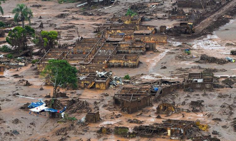 Processo é movido contra a BHP, parceira da Vale na barragem do Fundão - Antônio Cruz - Agência Brasil