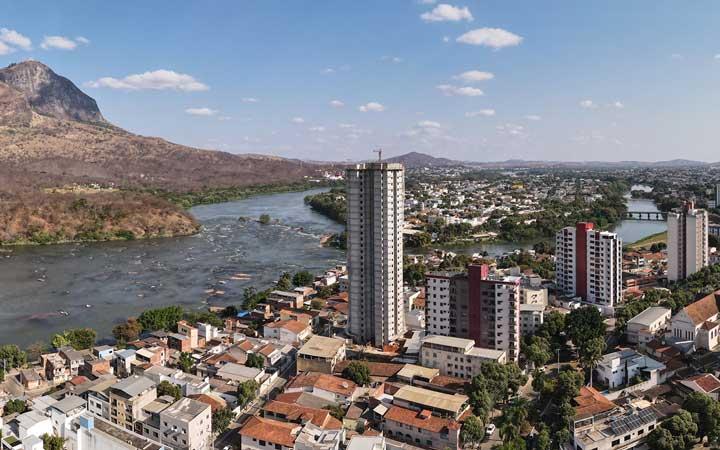 Com 28 andares, o Ibituruna Tower é agora o prédio mais alto do Brasil construído totalmente em estrutura de concreto