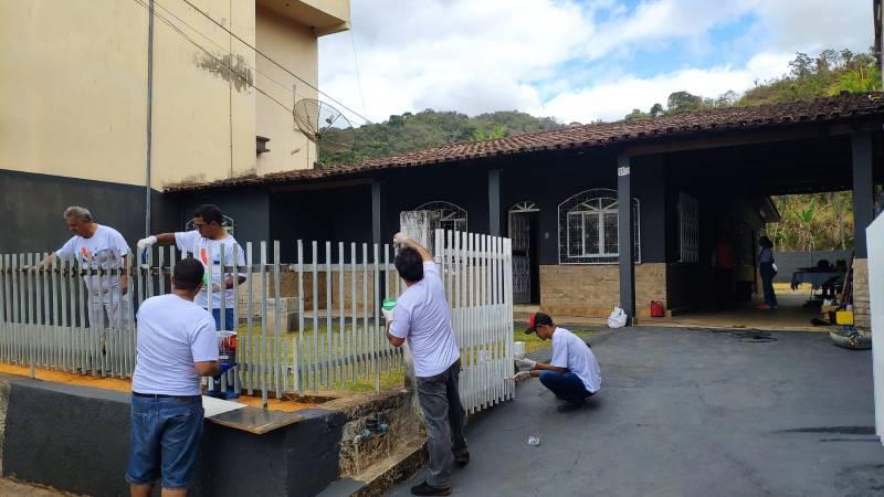 Fachada da Casa da Cultura em Santana do Paraíso