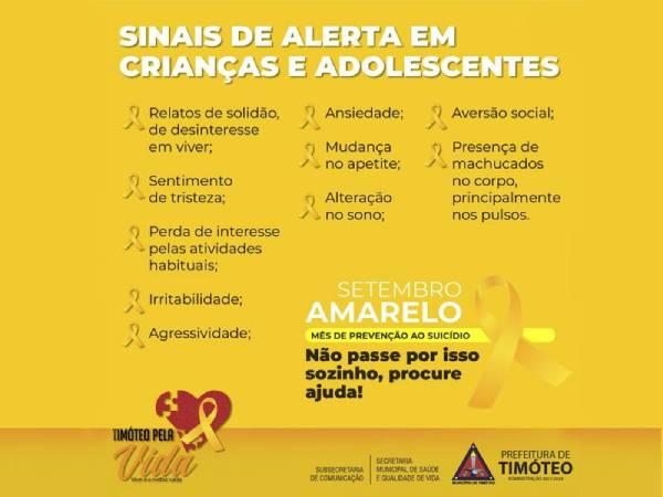 A ação foi iniciada no Brasil em 2014 e visa a reduzir os índices de suicídio