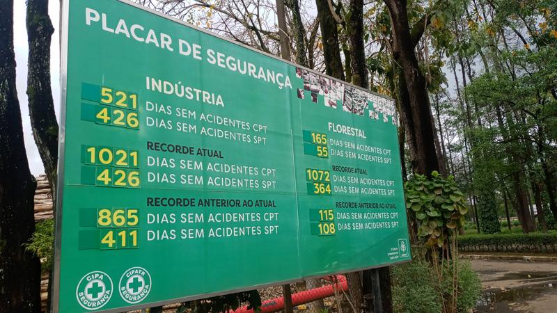 Mesmo com as restrições impostas durante a pandemia, CENIBRA bate recorde de dias sem acidentes SPT, na área industrial
